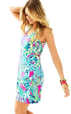 878fdf09f354 Lilly Pulitzer Melle Trapeze Tank Dress Lilly Pulitzer