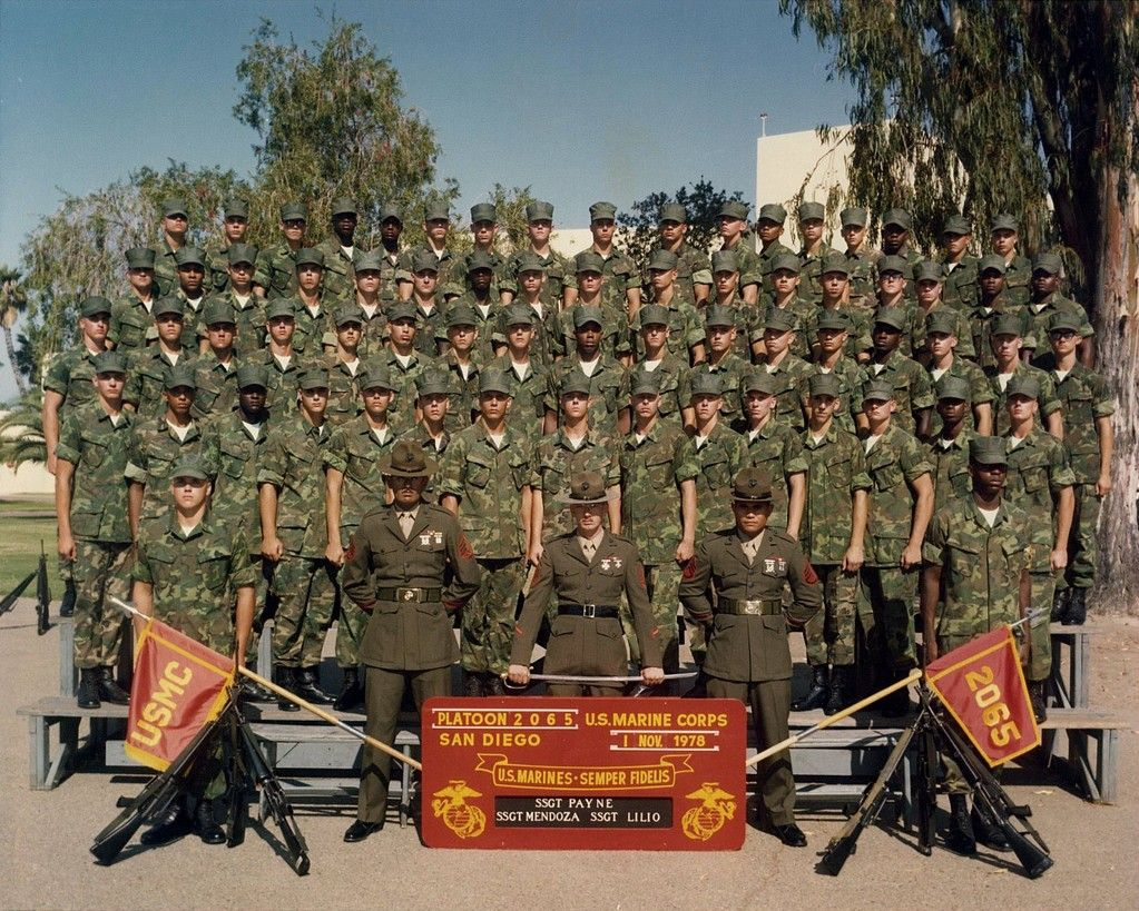 1978 platoon 2065 us marine corps mcrd san diego usmc