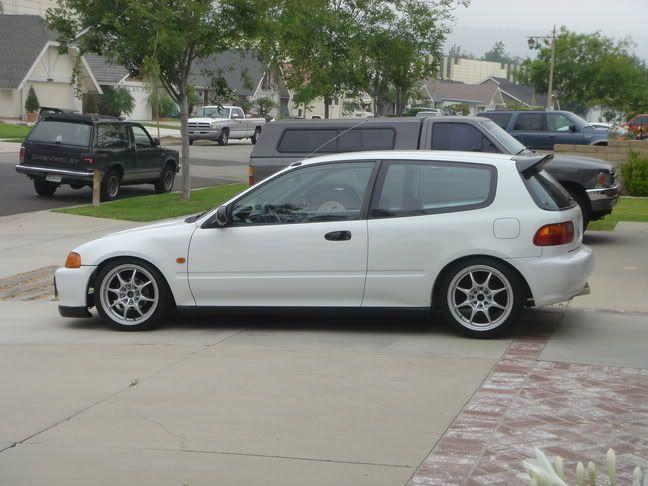 All White Eg Hatchback Post Pics Here Honda Tech Honda Civic Hatchback Civic Hatchback Honda Hatchback