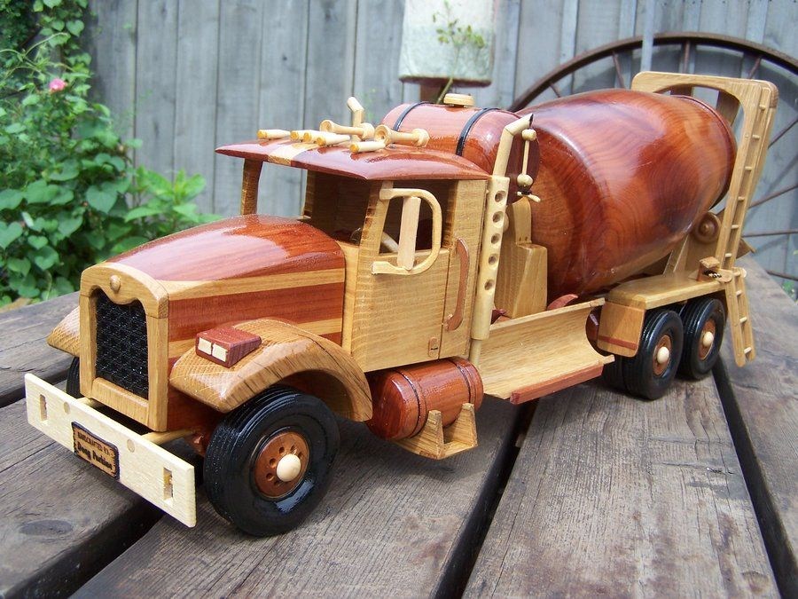 Another in my Construction series. | Wooden toy trucks ...