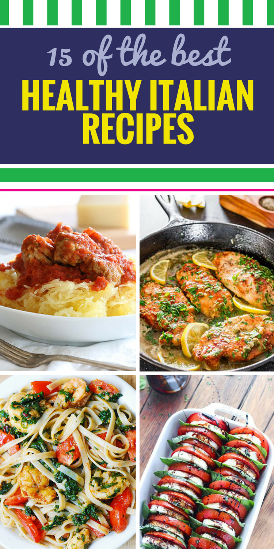 The Recipe of Pasta for Dinner In Italian