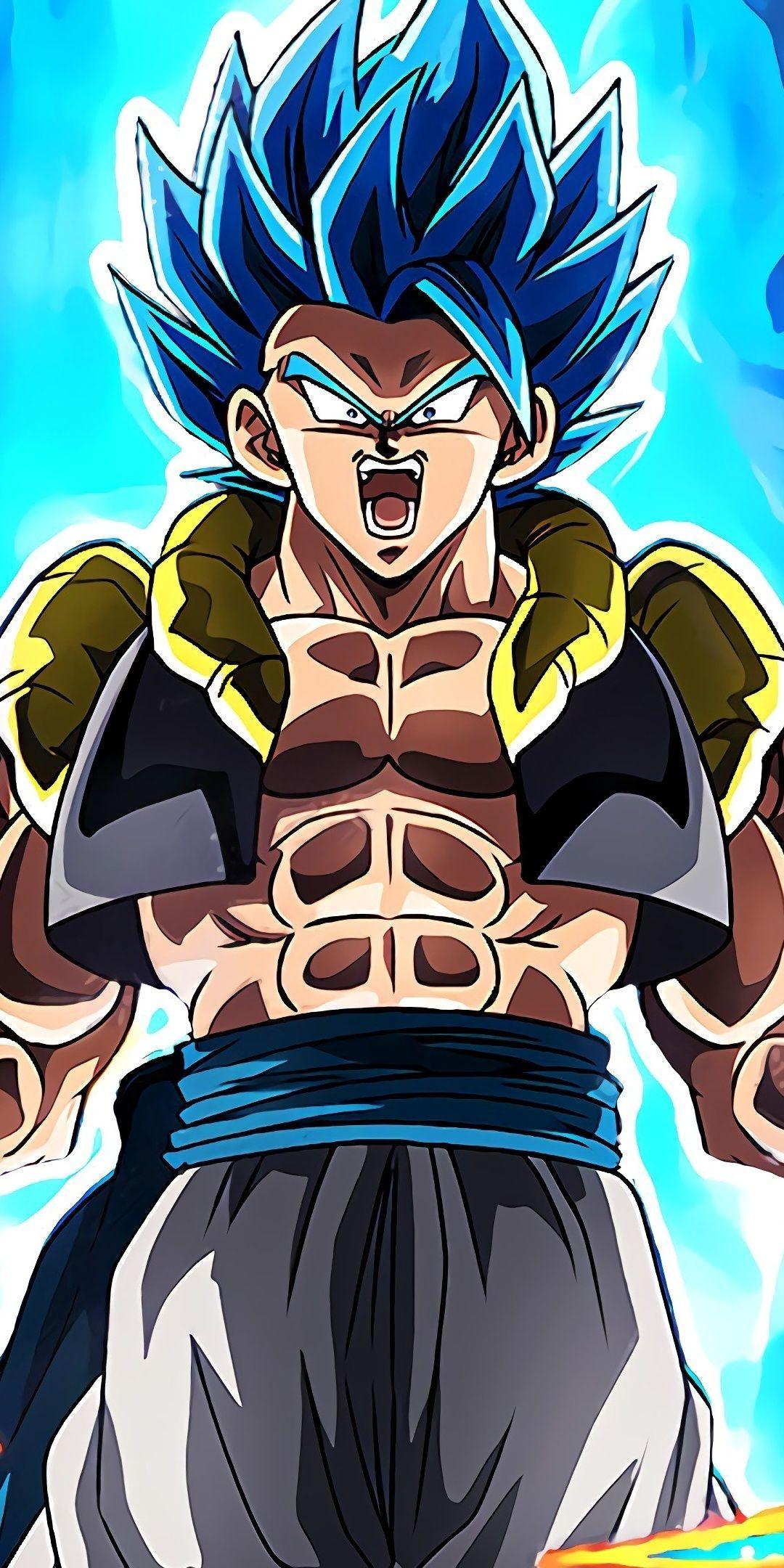 Dragon Ball Super Broly Gogeta Art 1080x2160 Wallpaper