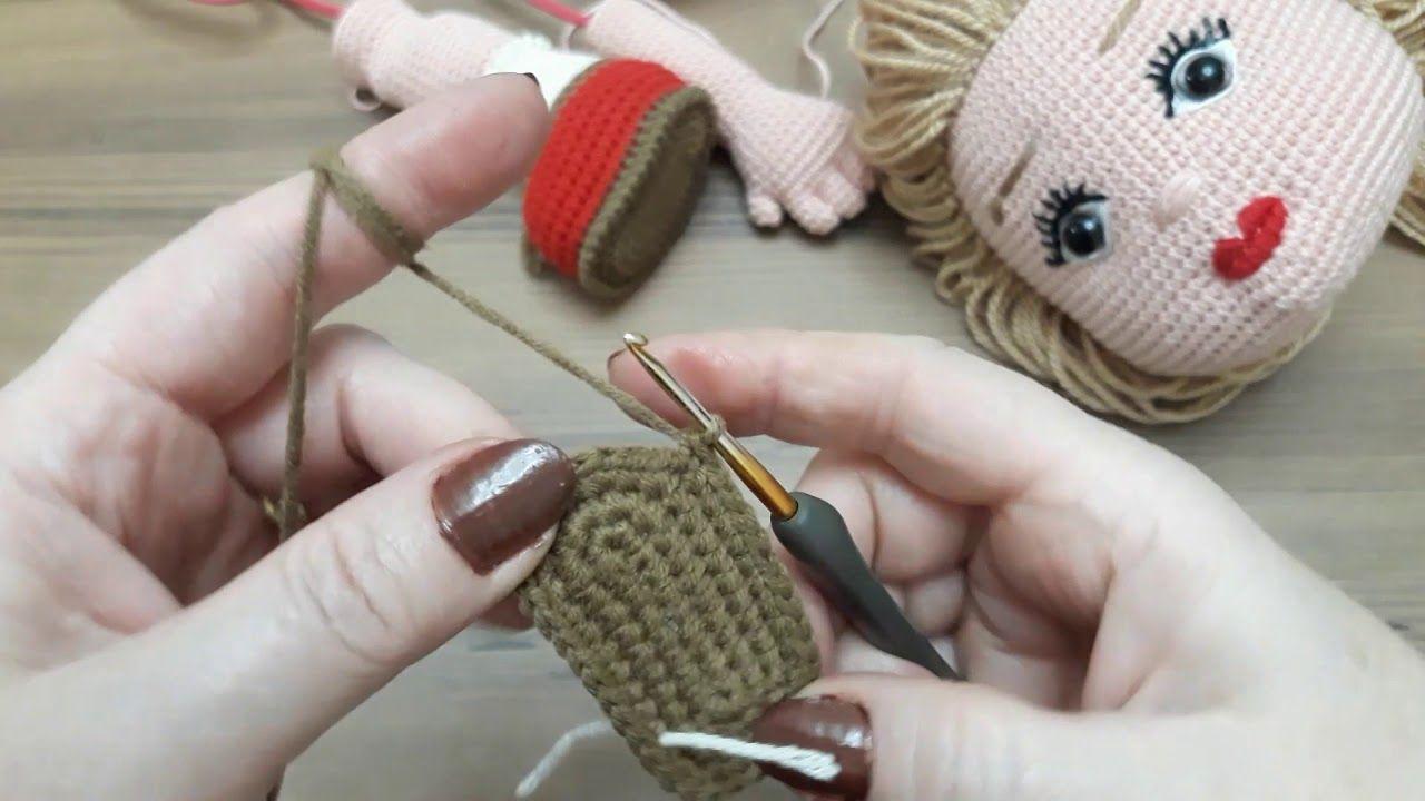 Amugurumi Bebek Ayağı Yapılışı.. - YouTube | 720x1280