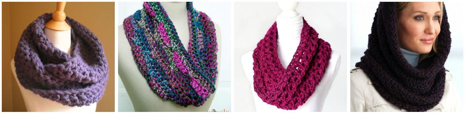Make a Crochet Cowl: 10 Crochet Cowl Patterns | Crochet, Patterns ...
