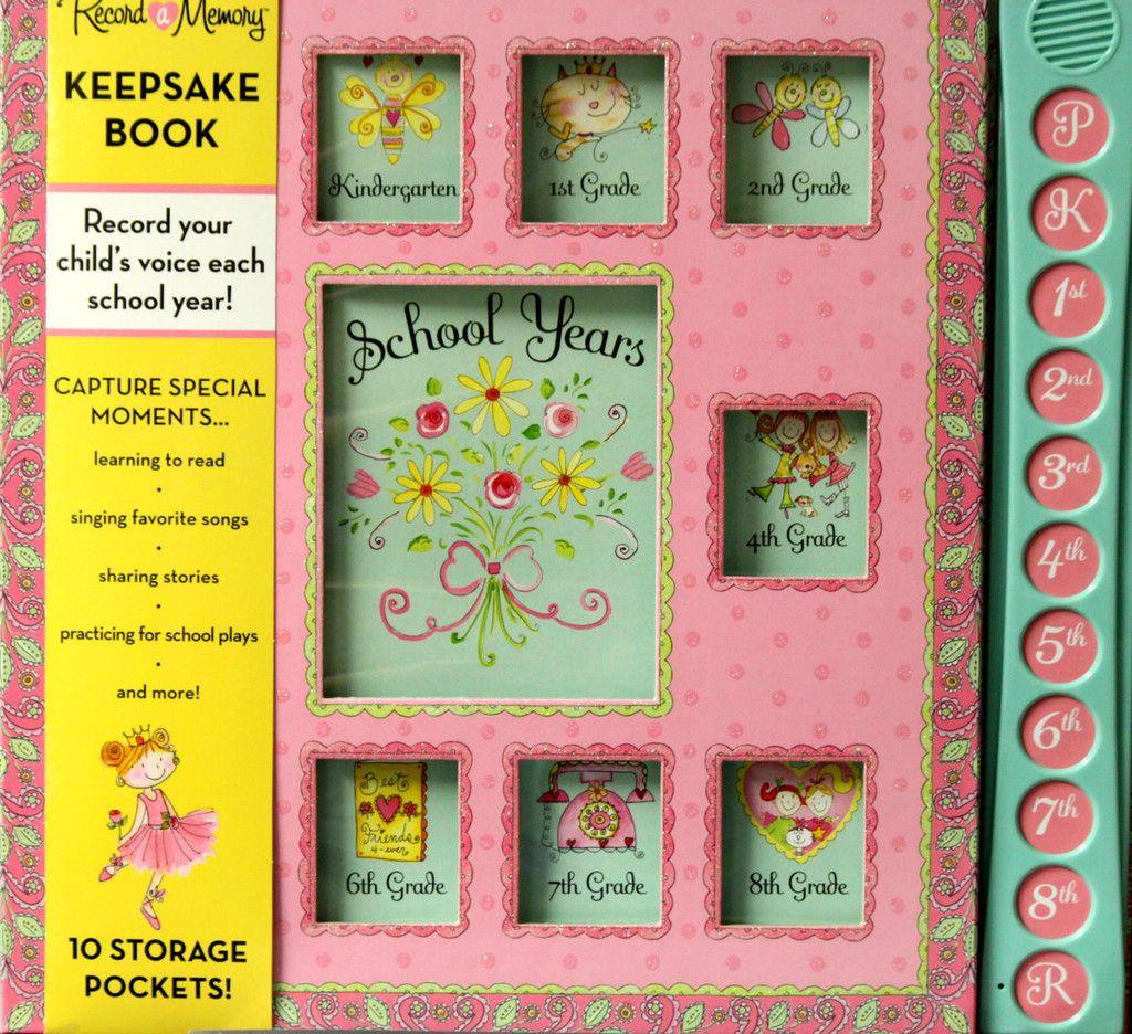 How to scrapbook school years - New Seasons Dena Designs School Years Record A Memory Keepsake Book Is Available At Scrapbookfare