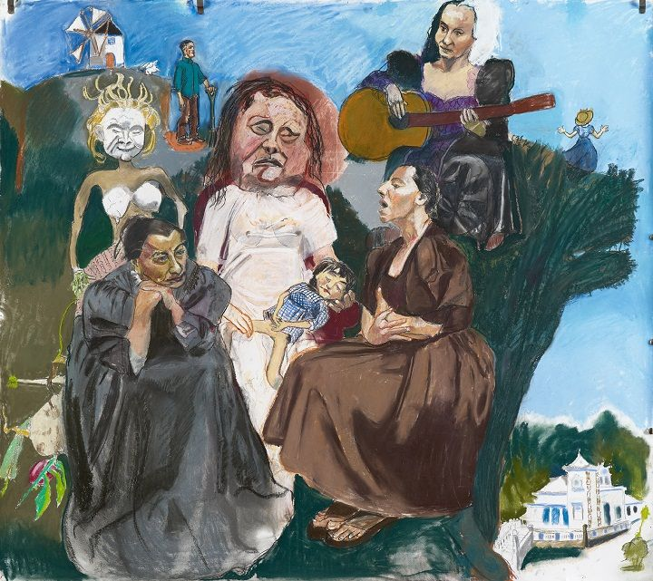 A Dama Pe De Cabra Works By Paula Rego Adriana Molder Through 28 October 2012 Portugal Confidential