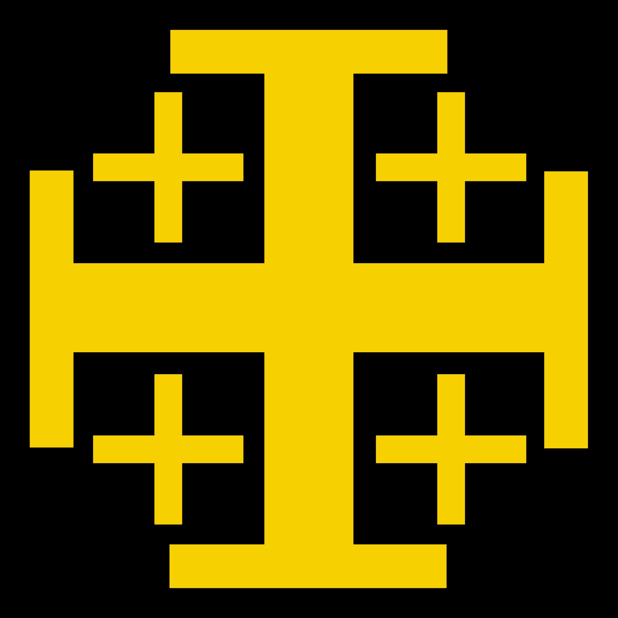 Judah 2000px Jerusalemcrossgg 20002000 Symbols Pinterest