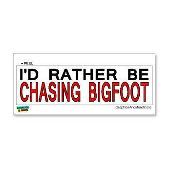 Bigfoot vinyl sticker  for laptop luggage tumbler d