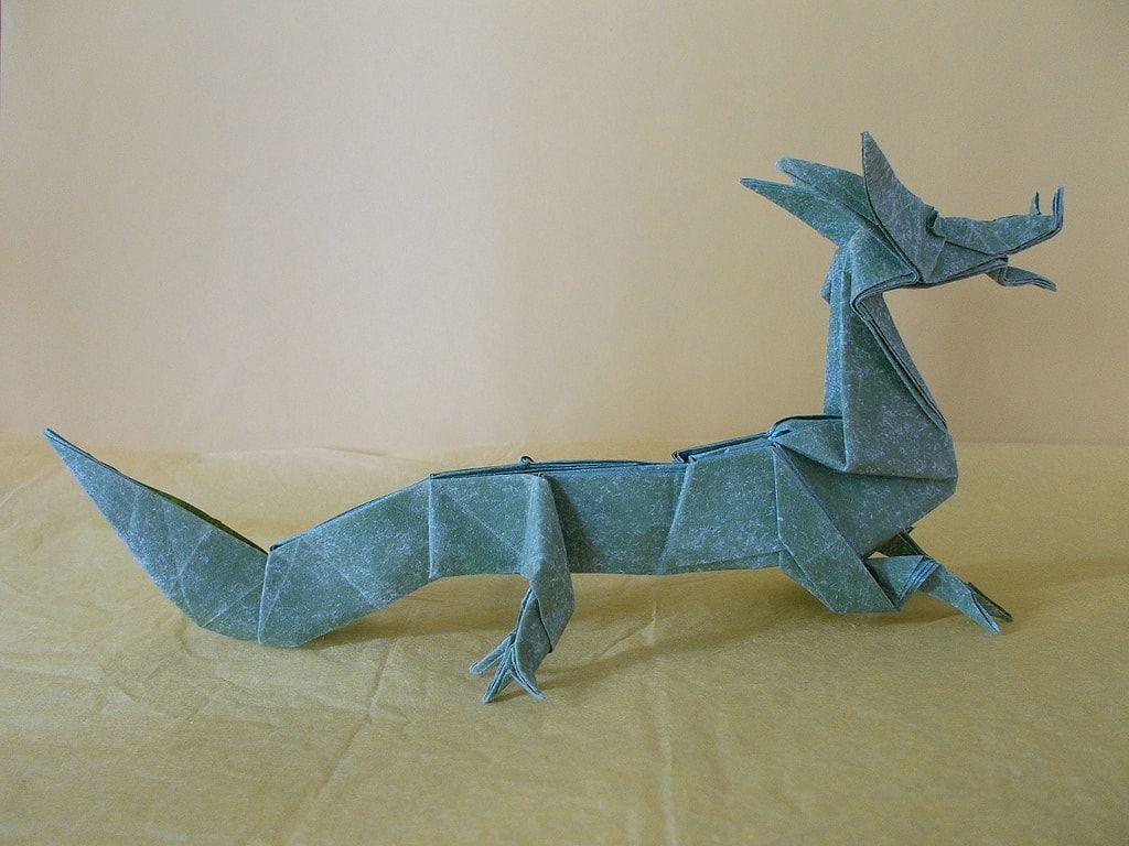 Origami dragon eastern dragon origami dragon dragons and origami jeuxipadfo Choice Image