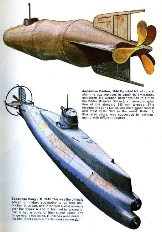 Japanese midget submarine design