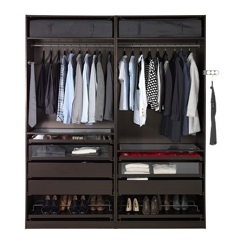 l200 h236 p60 pax armoire penderie ikea garantie 10 ans gratuite d tails des conditions. Black Bedroom Furniture Sets. Home Design Ideas