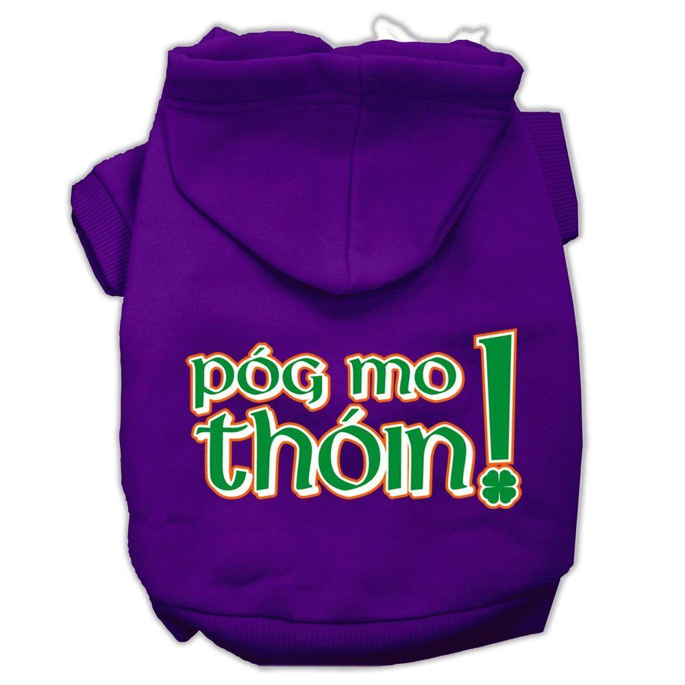Basic Dog Hoodie (Screen Print) - Irish Pog Mo Thoin