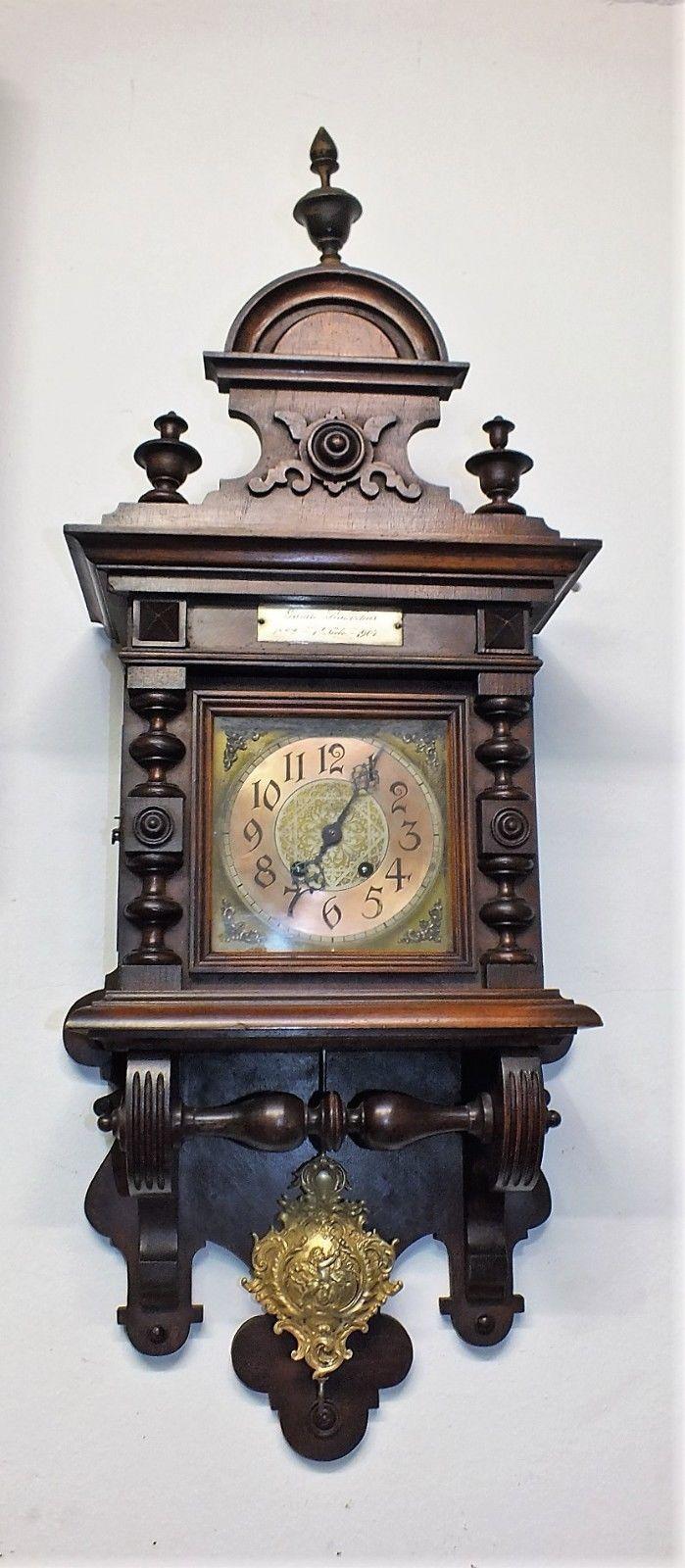 Horloge De Bureau Originale 95cm hoch originale lenzkirch agu wanduhr freuischwinger