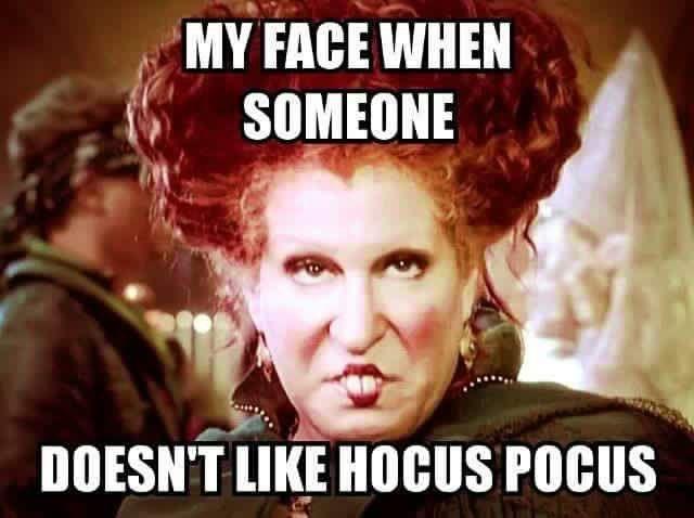 Image result for hocus pocus meme
