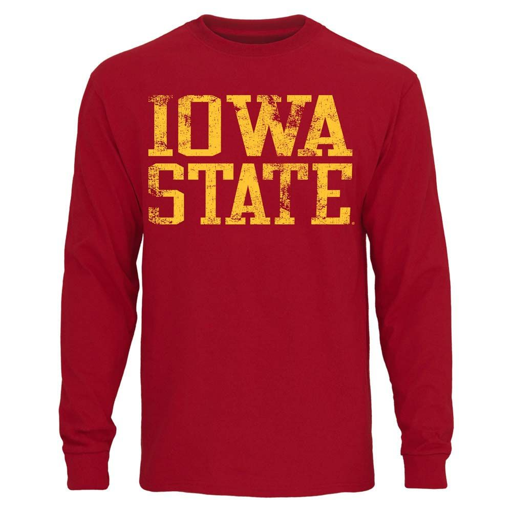 Iowa state cyclones straight out long sleeve tshirt