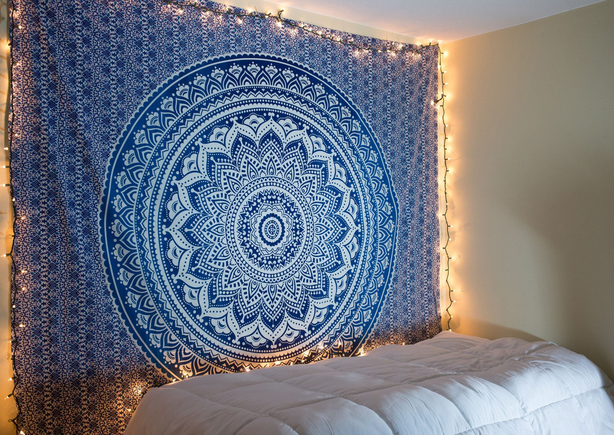 Blue Ombre Tapestry Tapestry Ombre And Dorm