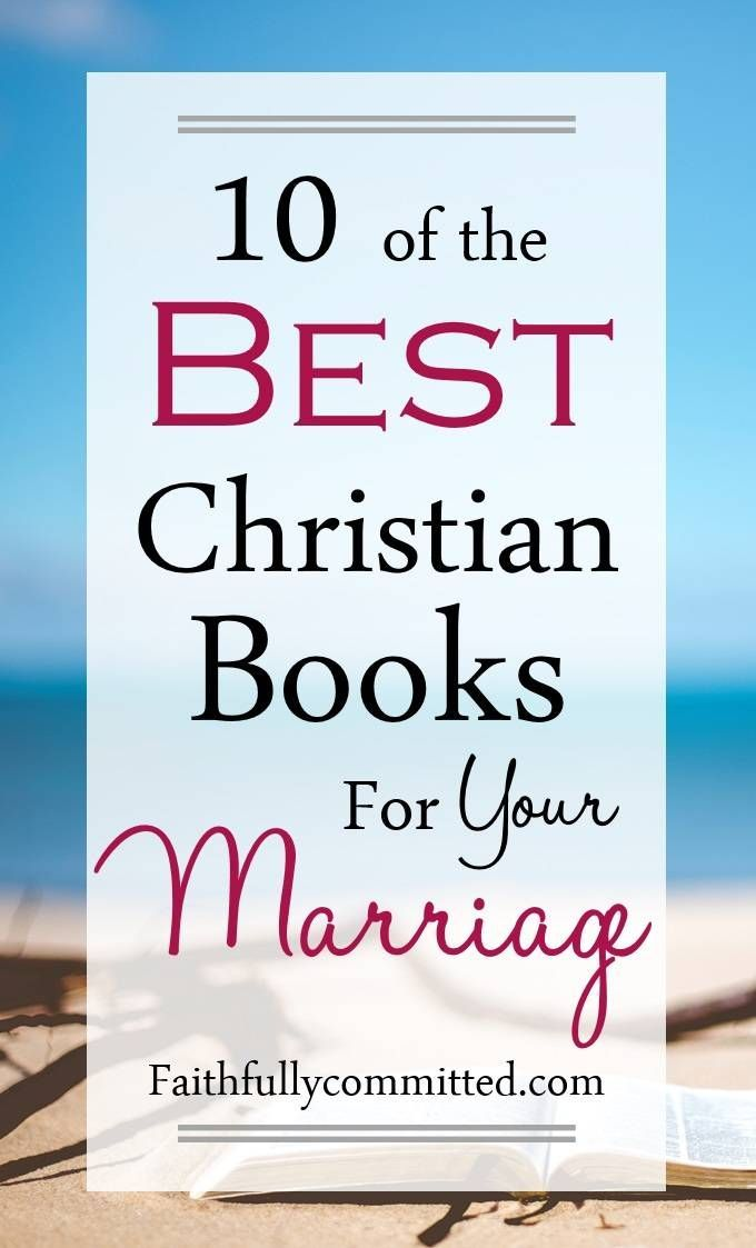 Best christian books on marriage