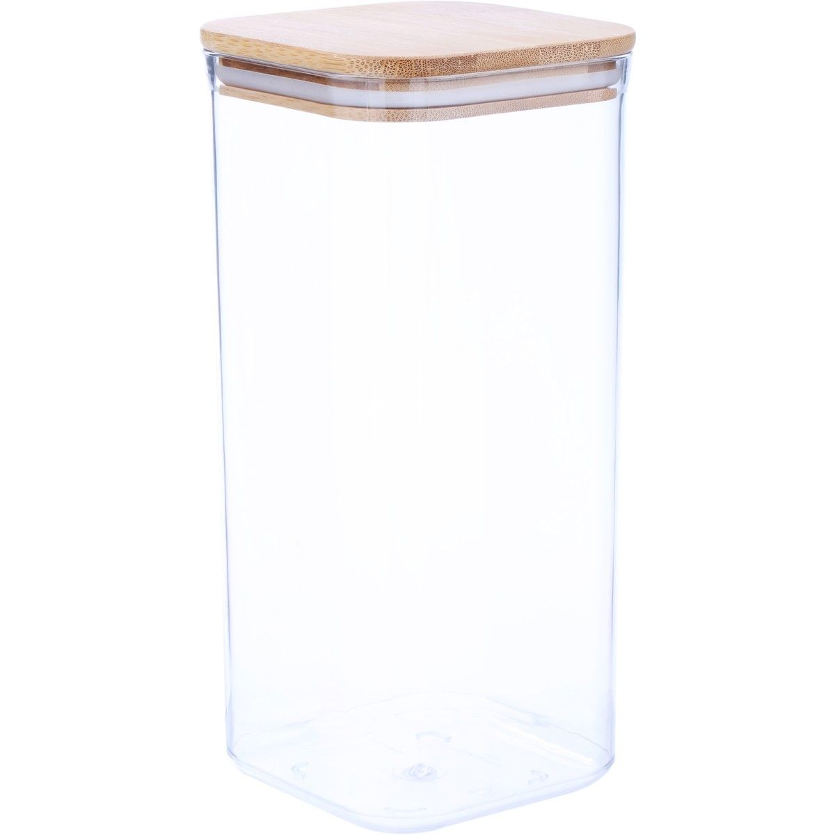 House home large bamboo lid 17l container cereal