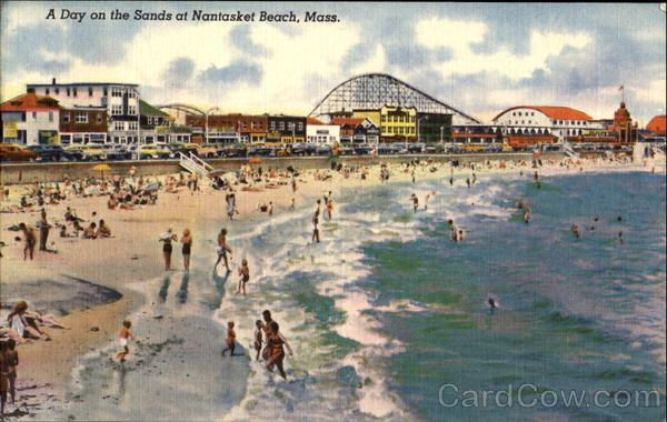 Day On The Sands Nantasket Beach Machusetts Amut Parks