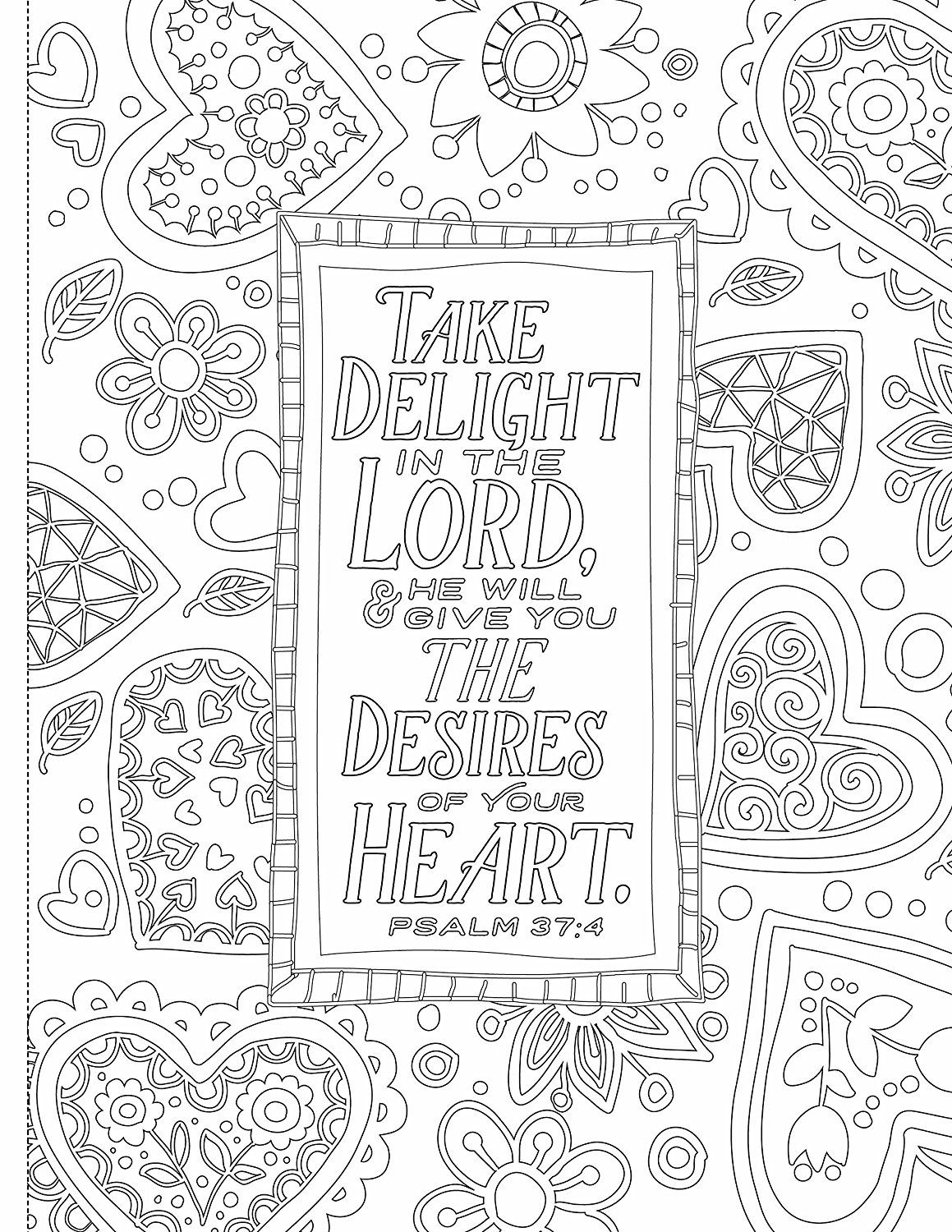 - Inspiring Words Coloring Book: 30 Verses From The Bible You Can