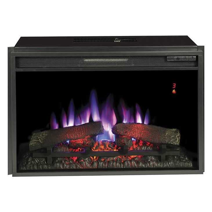 Chimney Free Inches Electric Fireplace Insert With Images