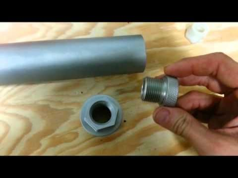How to ruin your 4003 - solvent recycling adapter - trap silencer