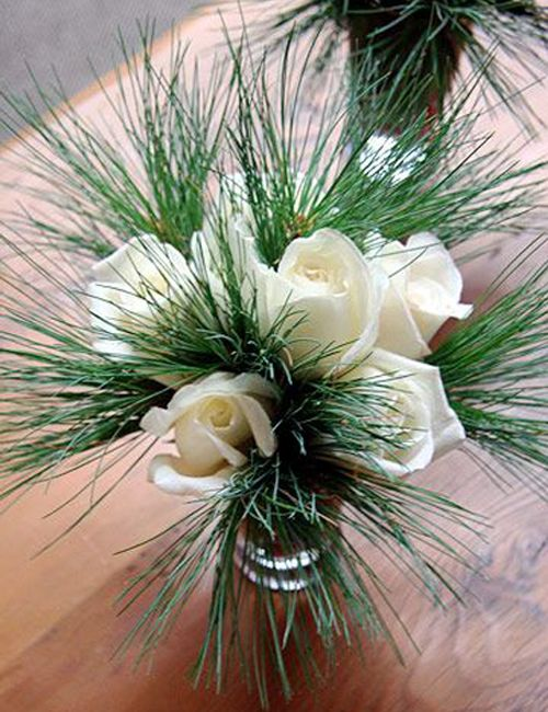 Winter Flower Arrangements Holiday Tablescapes CHRISTMAS
