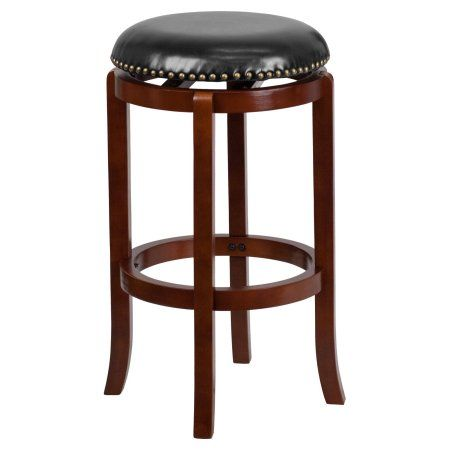 Pleasing Flash Furniture 29 Backless Light Cherry Wood Barstool Gmtry Best Dining Table And Chair Ideas Images Gmtryco