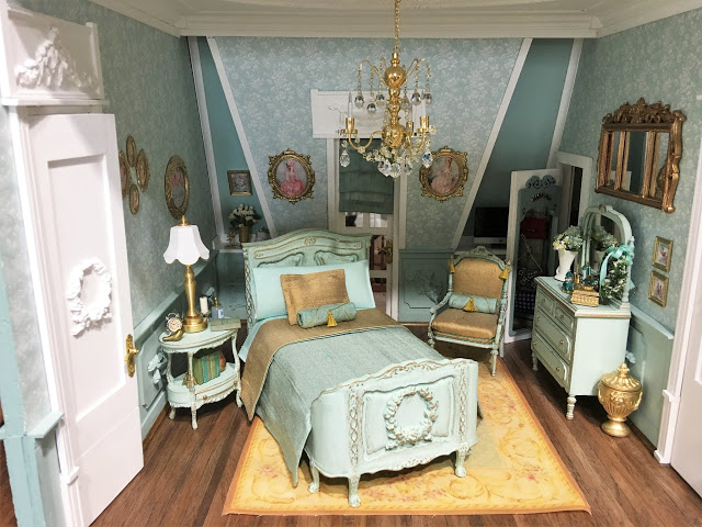 My Miniature Madness: A Place To Lay Her Head... #miniaturerooms