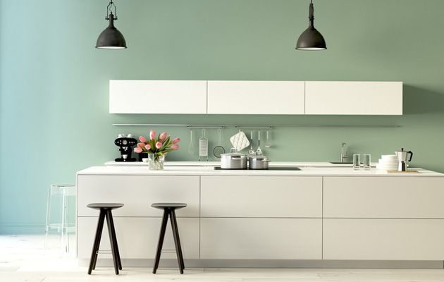 Choisir couleurs murs peinture cuisine cuisine couleur murs cuisine peinture mur cuisine et - Choisir couleur cuisine ...