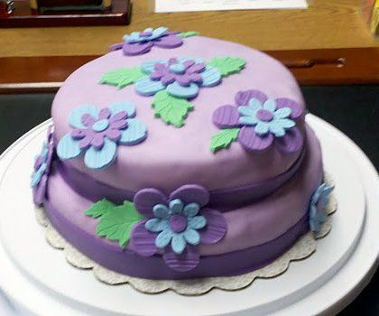 Fondant Birthday Cakes For Beginners New Series Cake