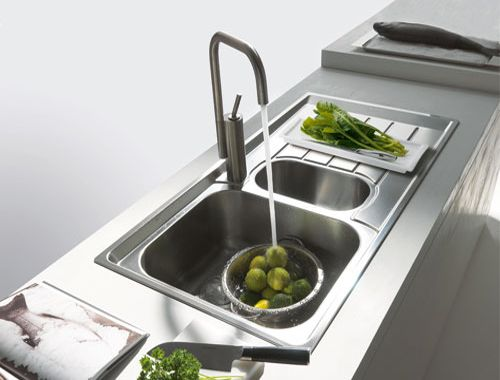 lavello cucina in #acciaio inox satinato #Franke #Neptune #Nex651 ...
