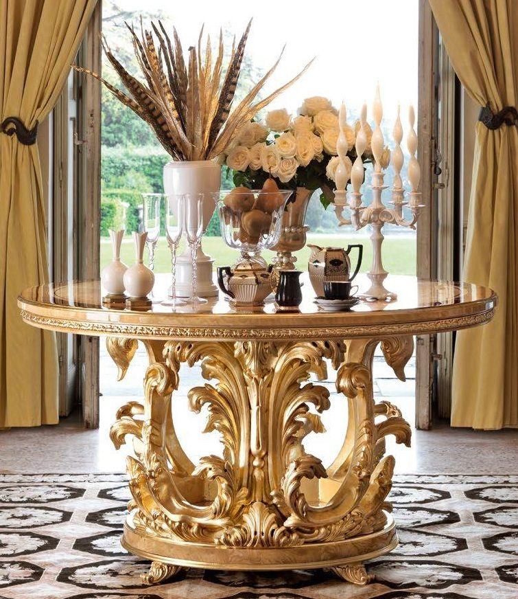 1 Empire style foyer center table | Decor, Center table ...