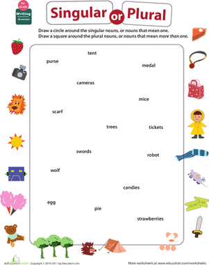 How To Teach Singular And Plural - Scalien