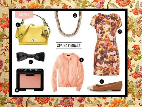 Autumn/fall and winter vintage florals #Style #trends