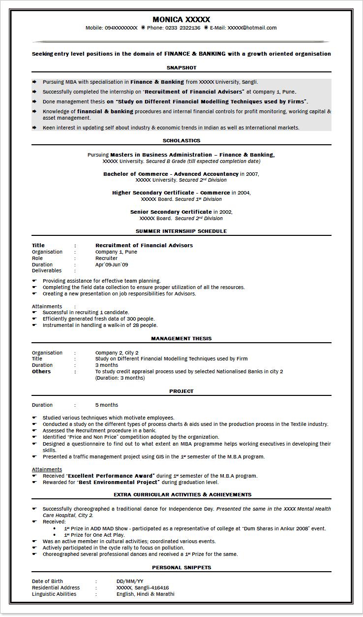 Resume Format For Fresher Mba Buy Nursing Essays Online Free