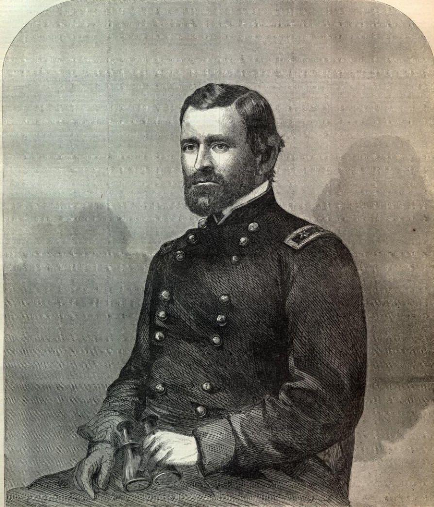 Major General Ulysses S Grant Unconditional Surrender Grant Civil War History Ulysses Grant Ulysses