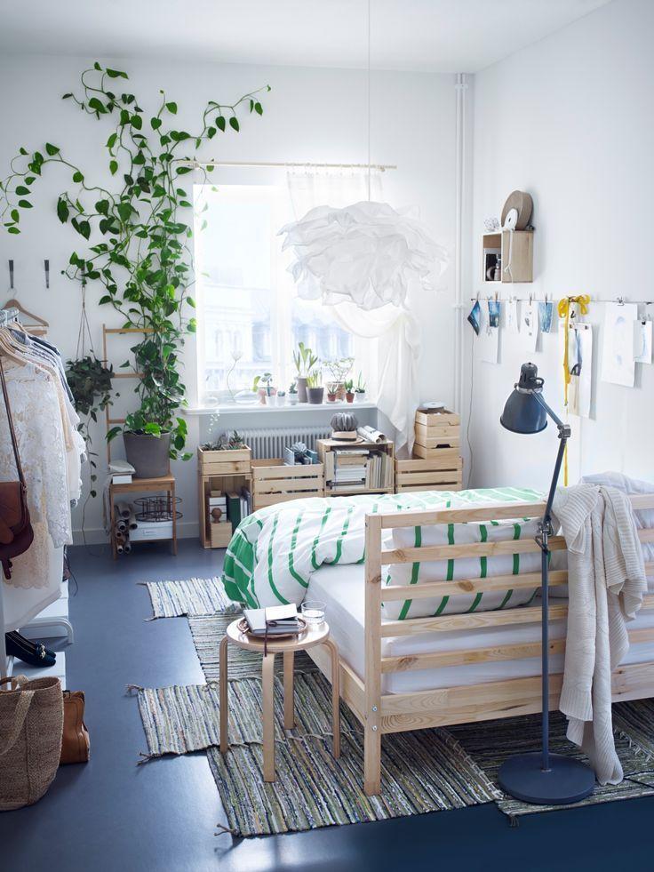 Tarva Bedframe Ikea Bedroom Design Small Bedroom Decor Bedroom