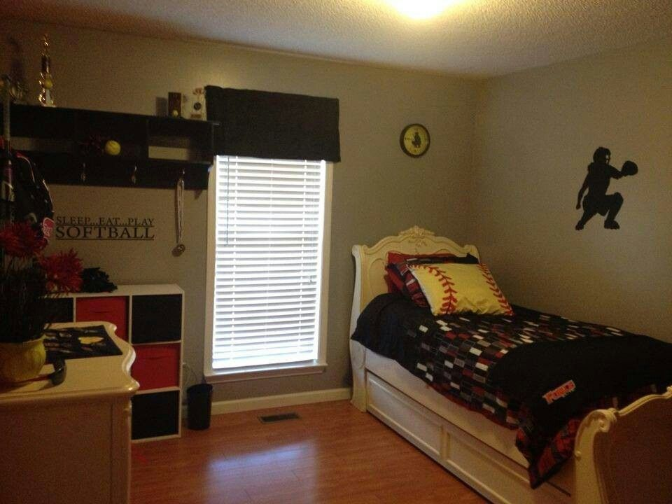 Bon Softball Bedroom Ideas Stuff Bows