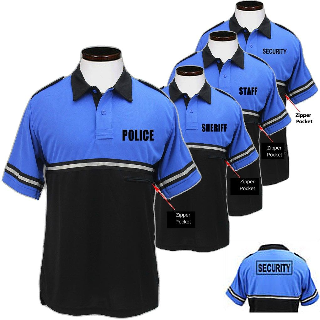 2e275fb4 Bike Patrol Polo Shirt – POLICE, SECURITY, SHERIFF or STAFF Royal ...