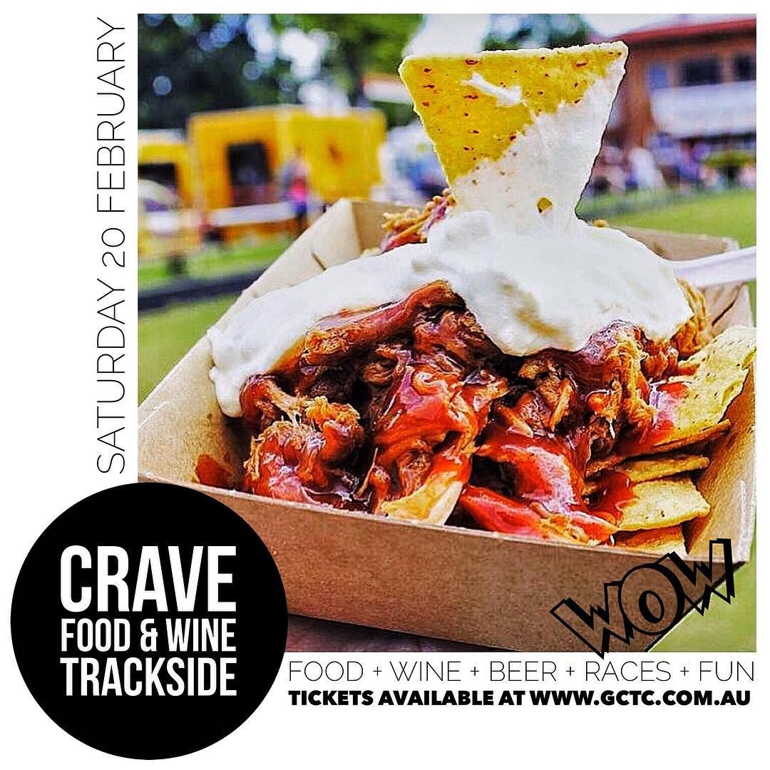Crave Gold Coast On Instagram Crave Food Wine Trackside Want To Join Us For A Day Of Delicious Food Wine Beers Race Wine Recipes Food Cravings Food