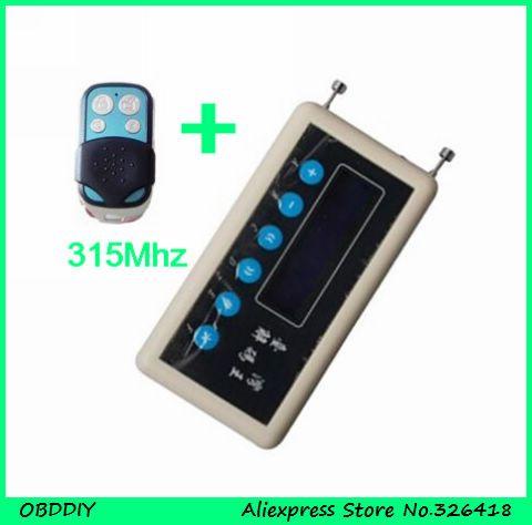 OBDDIY 315mhz remote control code key receiver detector gate garage remote control decoder +315mhz pair copy remote control A002