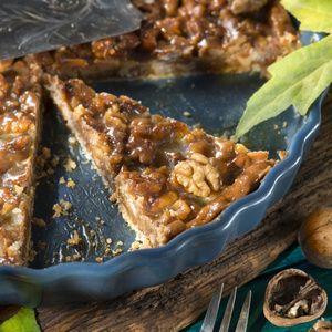 Karamell Walnuss Tarte Recipe Kuchen Cake And Sweety Pie