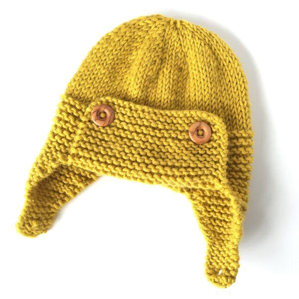 Regan - Aviator hat Knitting pattern by Julie Taylor  14b5b08c134