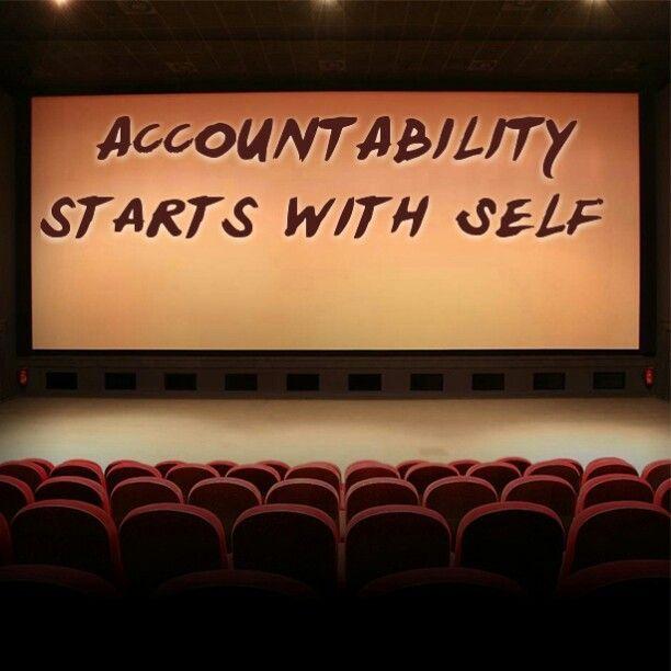 accountability quotes   Via Jill Harker