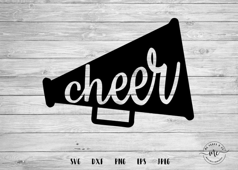 MEGAPHONE svg Cheerleader svg Cheer svg Icon svg Cheer