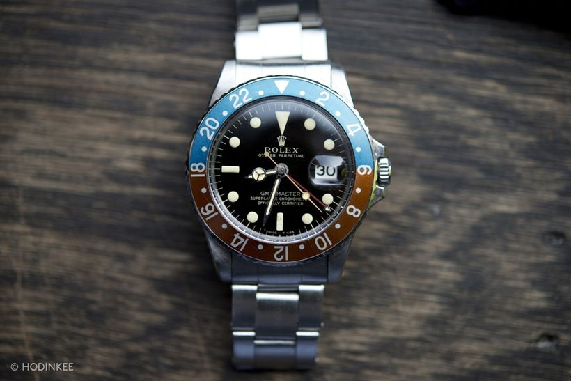 Rolex GMT-Master Reference 1675 Gilt