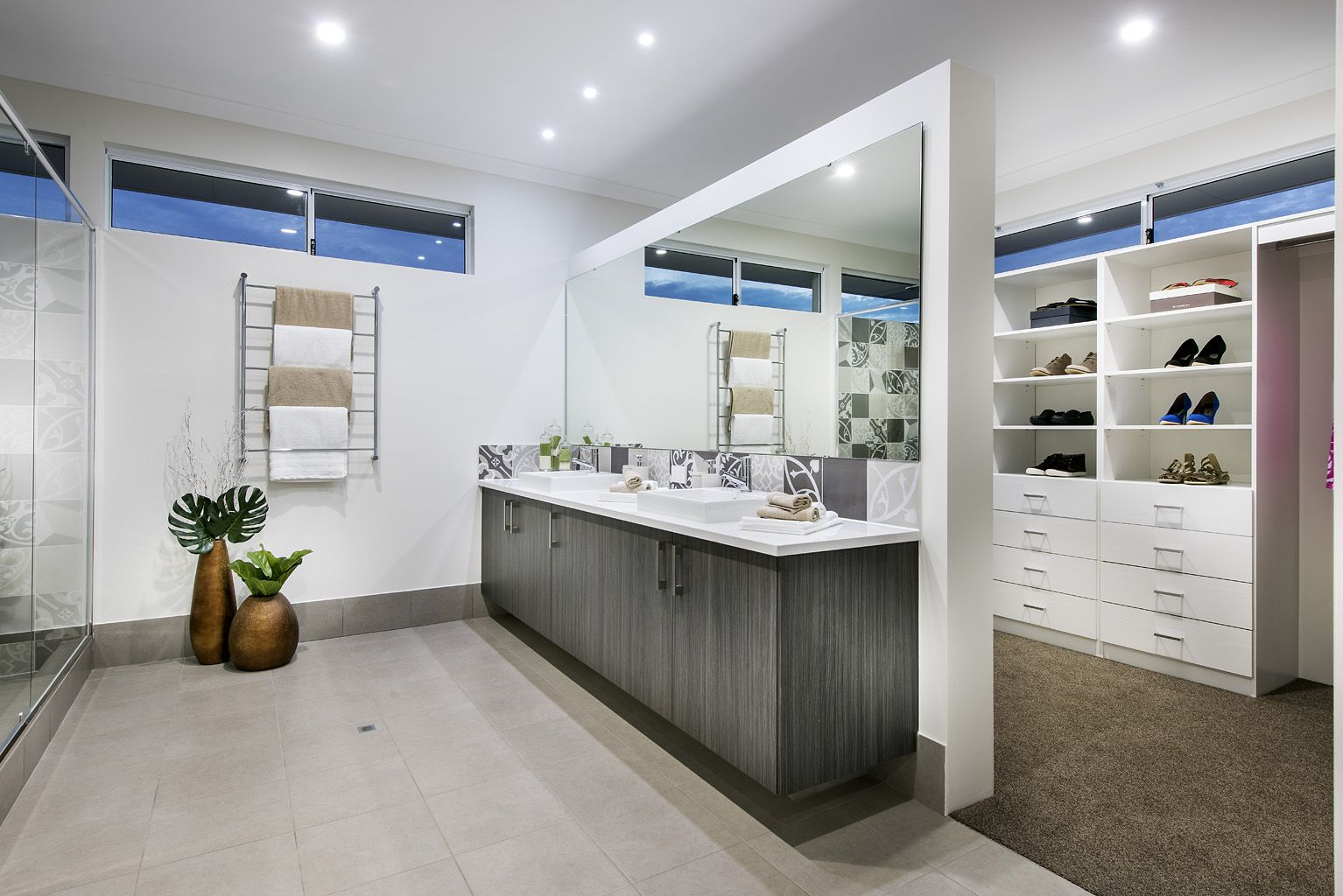 Beautiful Bathrooms Perth the lorenz © ben trager homes | perth display home | master