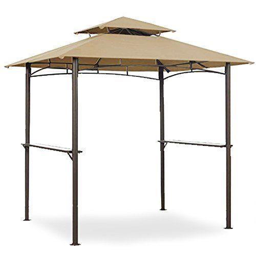 Garden Winds Replacement Canopy For Grill Gazebo Models 5bgz8217 5kgz8217 Https Gardendesignideas Info Garden Wind Grill Gazebo Steel Gazebo Rectangle Gazebo