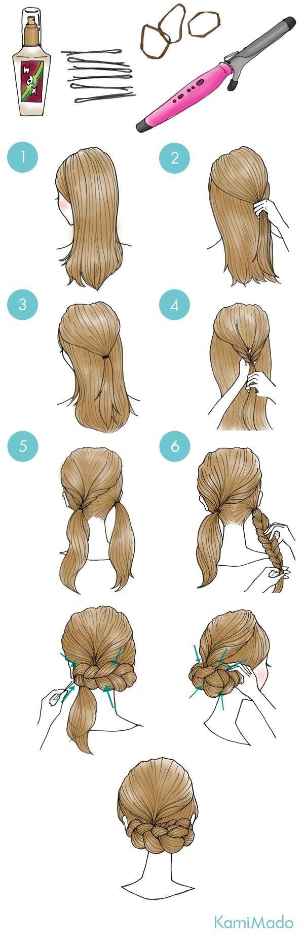 Cute hairstyles follow me guys letus see if we can get